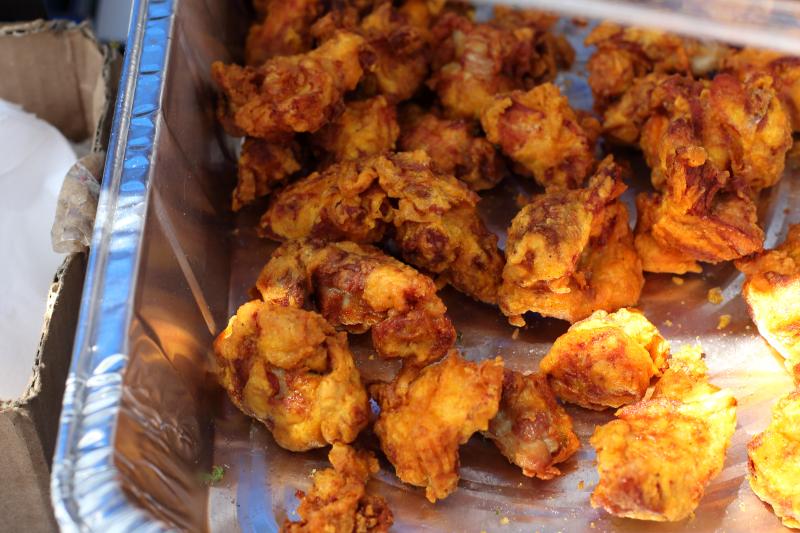 Chicharrones de pollo  The Freakin Rican  Ninth Avenue International Food Festival  Ninth Ave  Manhattan