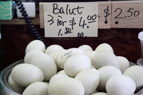 Balut  West Side Market  Jersey City