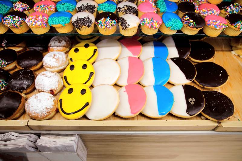Black-and-white cookies  and variations  Kaff's Bake Shop  Midwood  Brooklyn