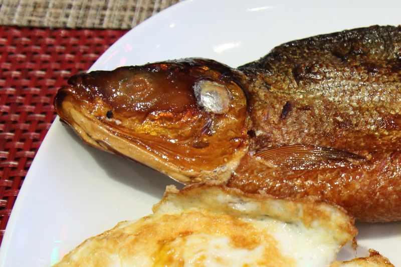 Tinapa  smoked fish  Grill 21  East 21st St  Manhattan
