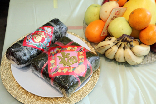 Banh tet and banh chung  Vietnamese Lunar New Year Celebration  Bronx Museum of the Arts  Bronx