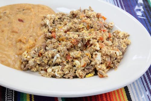 Machaca con huevo  Mi Dulce Mexico  Corona  Queens
