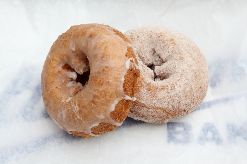 Apple donuts  Holtermann's Bakery  Great Kills  Staten Island