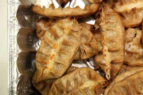 Karelian pastries  Finnish Christmas Fair  St John's Lutheran Church  Christopher St  Manhattan