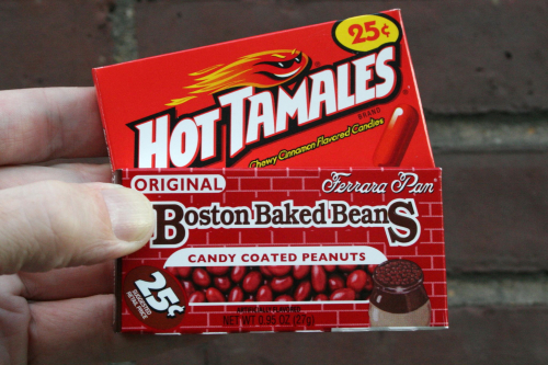 Hot Tamales and Boston Baked Beans  Sweet Banana Candy Store  Ninth Ave  Manhattan