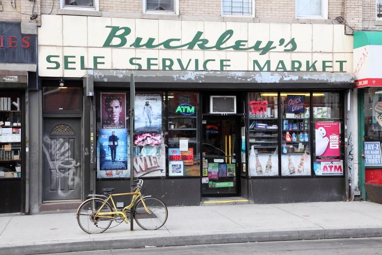 Buckley's Self Service Market  Greenpoint  Brooklyn