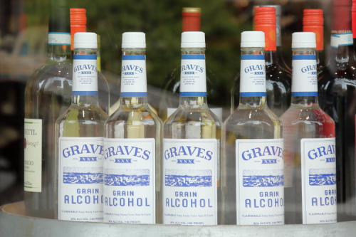 Graves grain alcohol  Broadway Cellar  Broadway  Manhattan