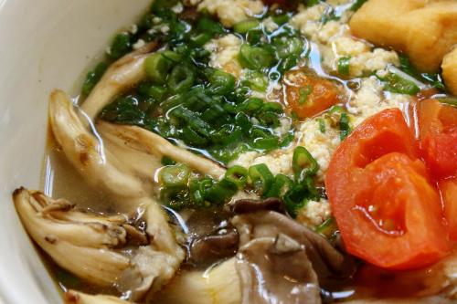 Bún riêu chay  vegan crab and tomato noodle soup  Di An Di  Greenpoint  Brooklyn