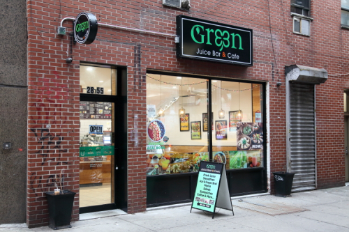 Green Juice Bar & Cafe  Astoria  Queens