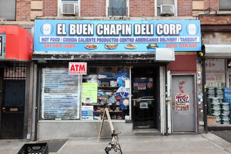 El Buen Chapin Deli  Sunset Park  Brooklyn