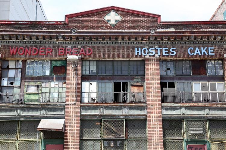 Former bakery for Wonder Bread and Hostess Cake  Washington  DC