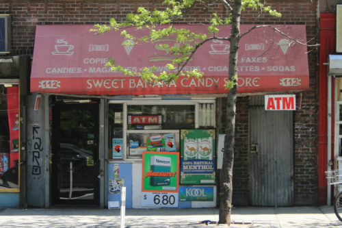 Sweet Banana Candy Store  Ninth Ave  Manhattan