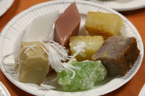 Desserts  New Year celebration of the Buddhist Missionary Society  Jackson Heights  Queens