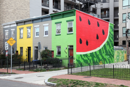 Watermelon House (Wade Wilson and Robert Banaszak  2007)  Washington  DC