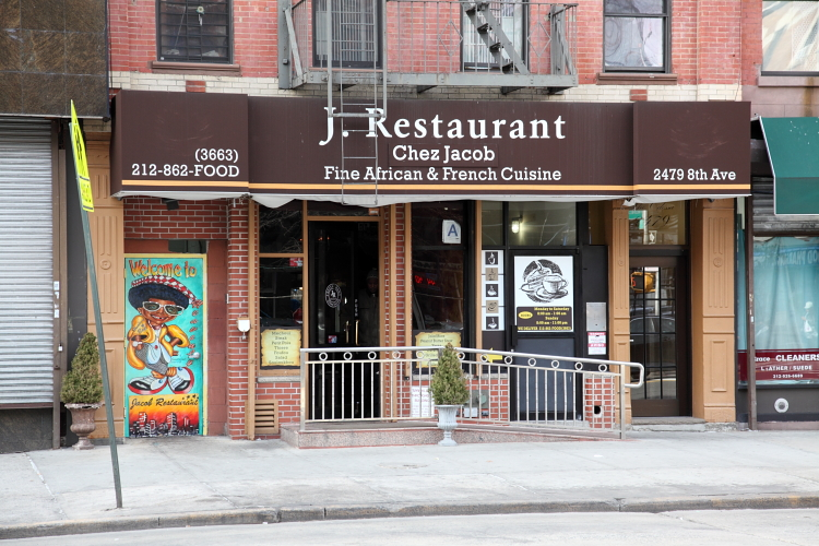 J Restaurant Chez Jacob  Frederick Douglass Blvd  Manhattan