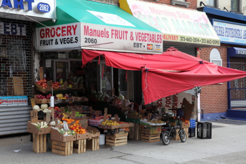 Manuel's Fruits and Vegetables  Second Ave  Manhattan