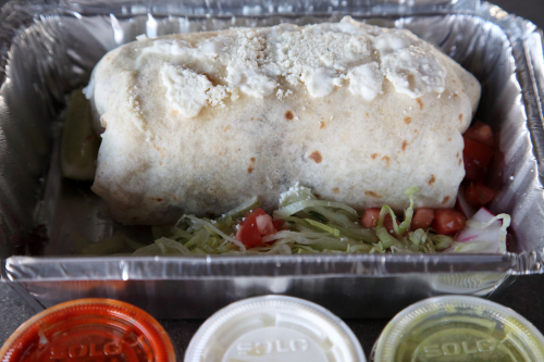 Vegetable burrito  La Morada  Mott Haven  Queens
