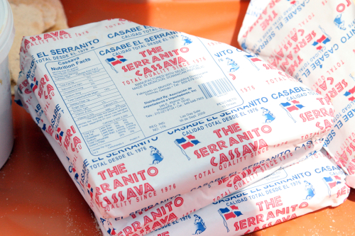 Cassava crackers at the Haitian Day Parade and Festival  Flatbush  Brooklyn