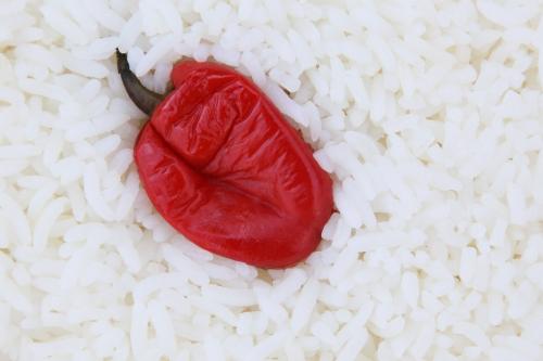 Pepper and rice  African Kine  Adam Clayton Powell Jr Blvd  Manhattan