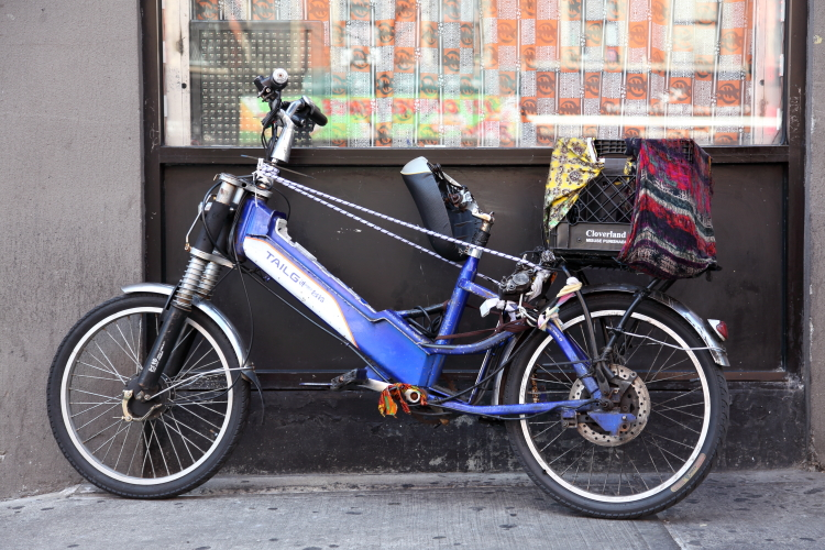 Delivery cycle  West 116th St  Manhattan