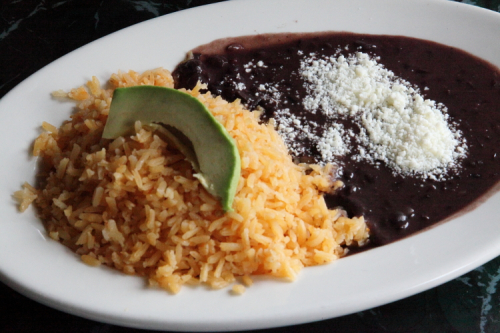Rice and beans  La Morada  Mott Haven  Bronx