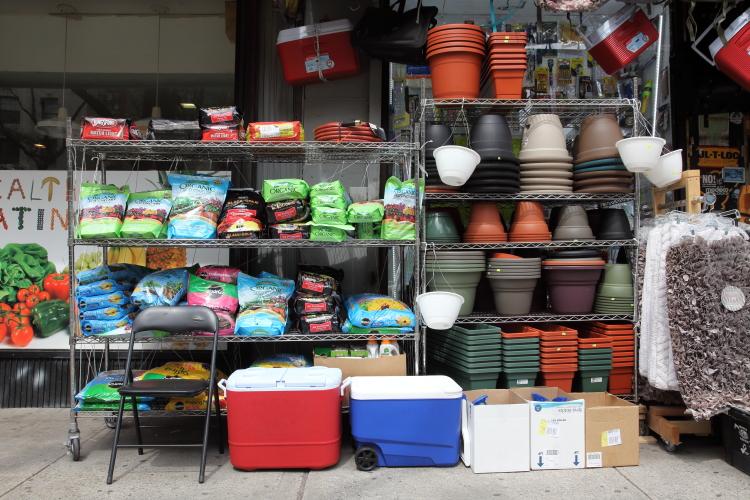 Gardening supplies  Max Pro Hardware  Broadway  Manhattan