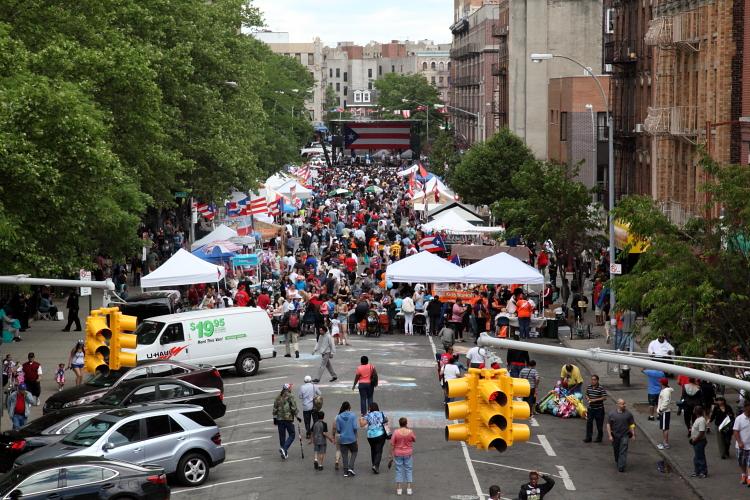 Festival Cultural de la Calle 152  Woodstock  Bronx