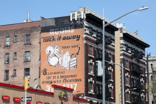 Tuck-It-Away  Tucky says  Broadway  Manhattan