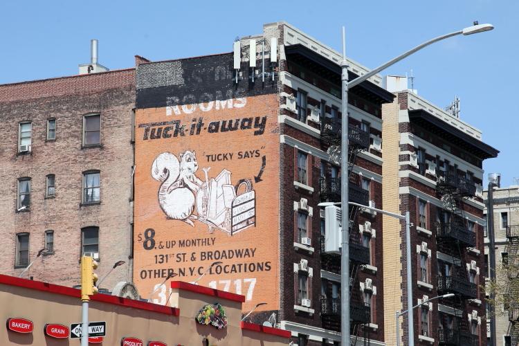 Tuck-It-Away  Tucky says  Broadway  Manhattan