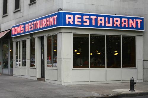 Tom's Restaurant  Broadway  New York