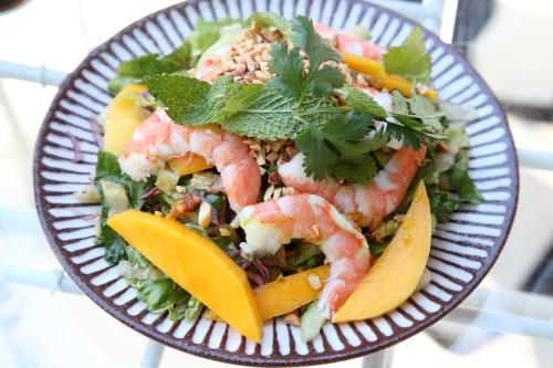 Pazun thoke  spicy shrimp mango salad  Rangoon  Prospect Heights  Brooklyn