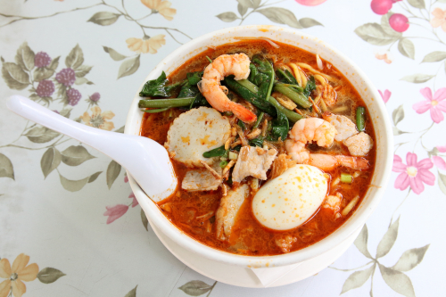Prawn mee  Curry Leaves  Flushing  Queens