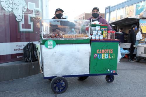 Camotes Puebla  Fordham  Bronx