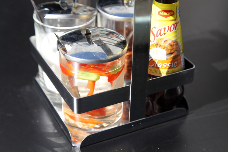 Tabletop condiments  Tong  Bushwick  Brooklyn
