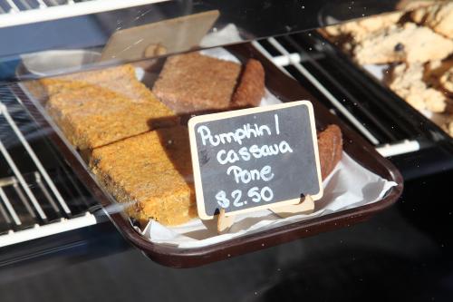 Pumpkin and cassava pone  Joy & Snook  Crown Heights  Brooklyn