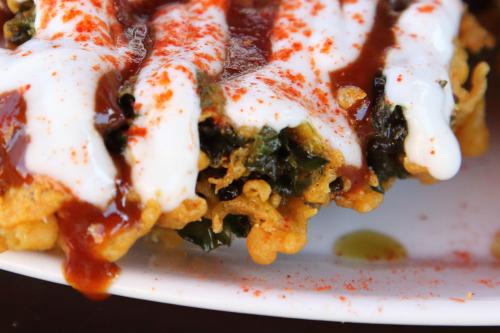 Pakoda kale  Angel Indian Restaurant  Jackson Heights  Queens