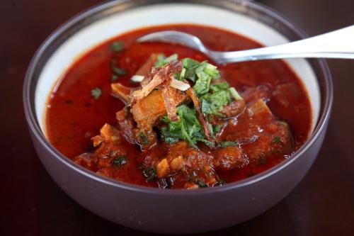 Laal maas  Angel Indian Restaurant  Jackson Heights  Queens