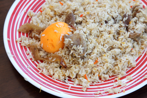 Goat biryani  Prince Kabab & Chinese Restaurant  Jackson Heights  Queens