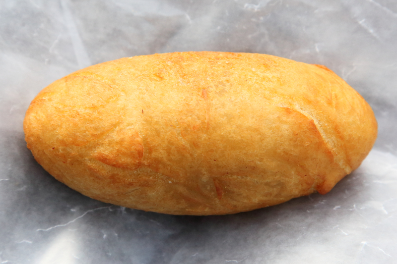 Pastel de yuca with beef  aka carimañola  Son D'licias  Jackson Heights  Queens