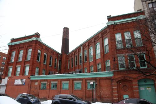 The former Joseph Loth & Co Silk Ribbon Mill  Amsterdam Ave  Manhattan