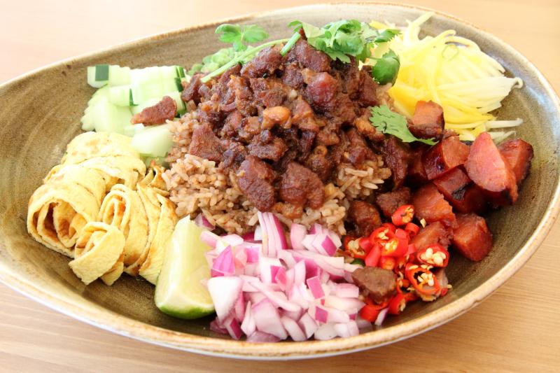Khao kook gapi Boran  house-special rice fried with shrimp paste  Boran  Carroll Gardens  Brooklyn