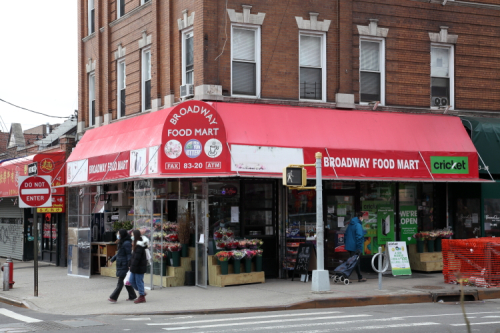 Broadway Food Mart  Elmhurst  Queens