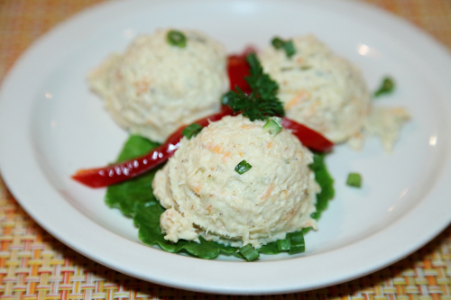 Treska (fish salad)  Koliba  Astoria  Queens