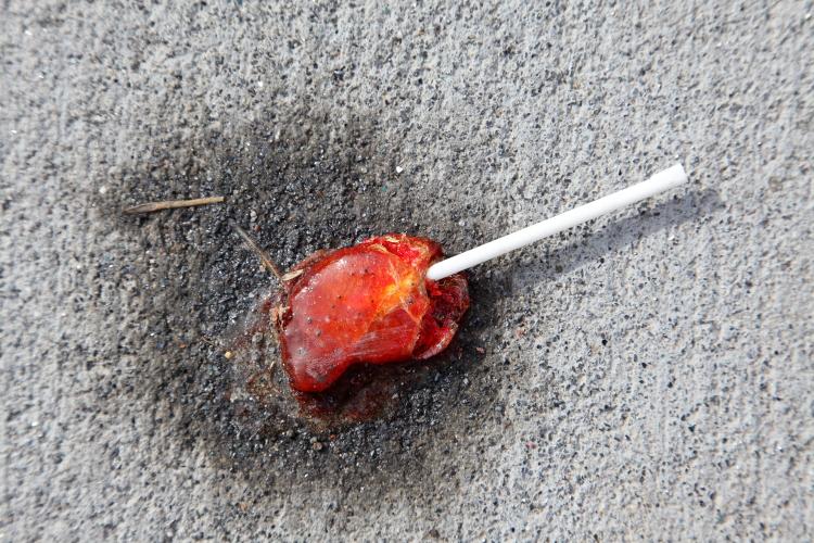 Fallen lollypop (or the like)  Jersey City