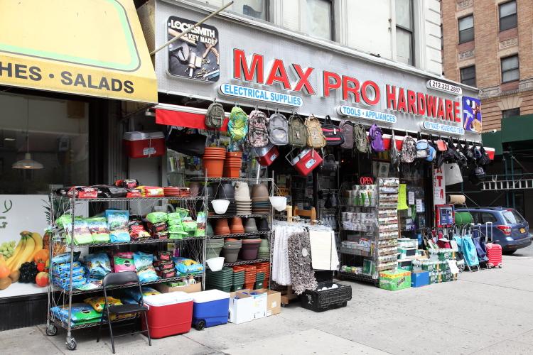 Max Pro Hardware  Broadway  Manhattan