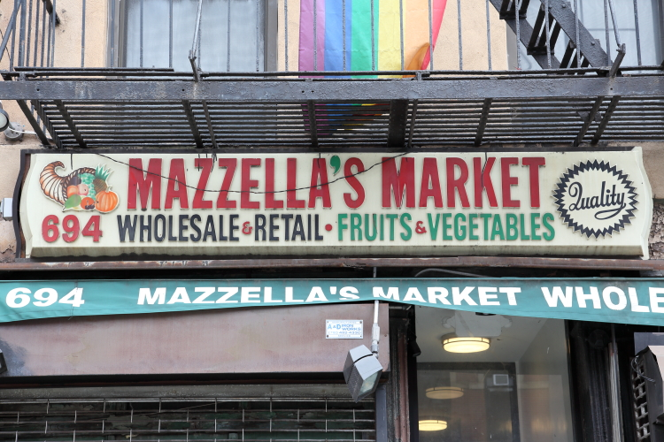 Mazzella's Market  Ninth Ave  Manhattan