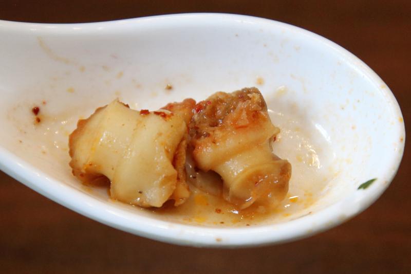 Snail meat  bun rieu oc  Banh Cuon Saigon  Eden Center  Falls Church  Virginia