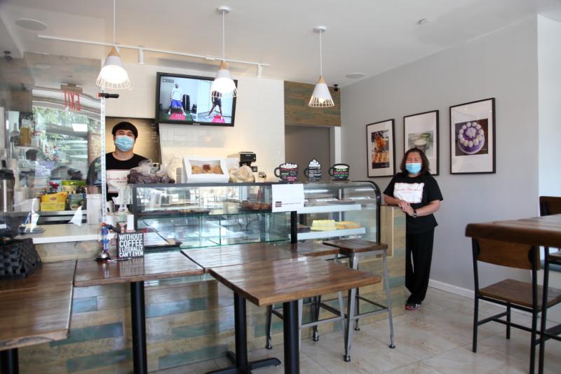 Reconfigured dining room  Kape't Torta  Elmhurst  Queens (CB)