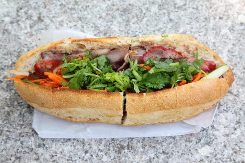 Bánh mì paté thịt nguội (combination no. 1)  Ba Xuyên  Sunset Park  Brooklyn