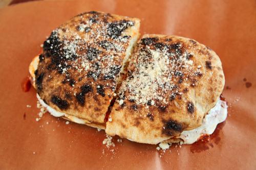 Eggplant parmesan sandwich  Kingsbridge Social Club  Kingsbridge  Bronx